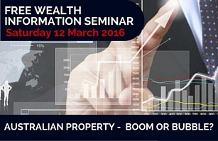 Free Wealth Information Seminar - Graham Bibby